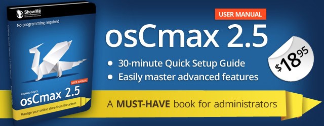 osCmax v2.5 User Manual
